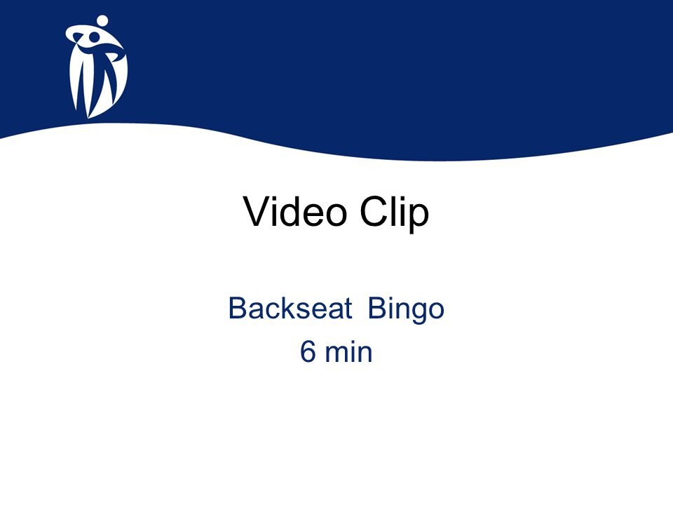 Video Clip Backseat Bingo 6 min
