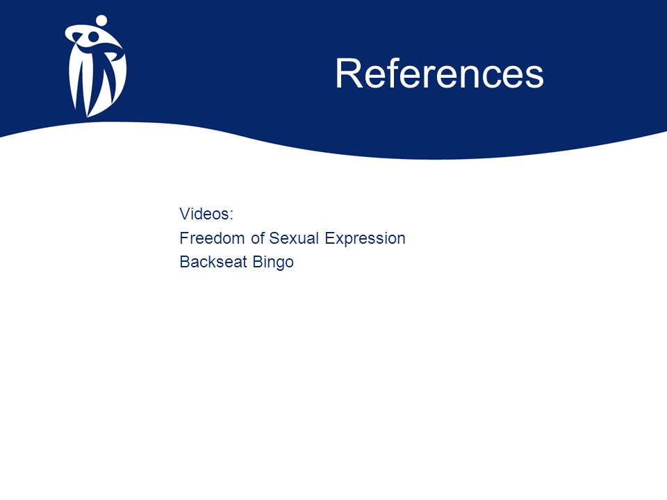 References Videos: Freedom of Sexual Expression Backseat Bingo