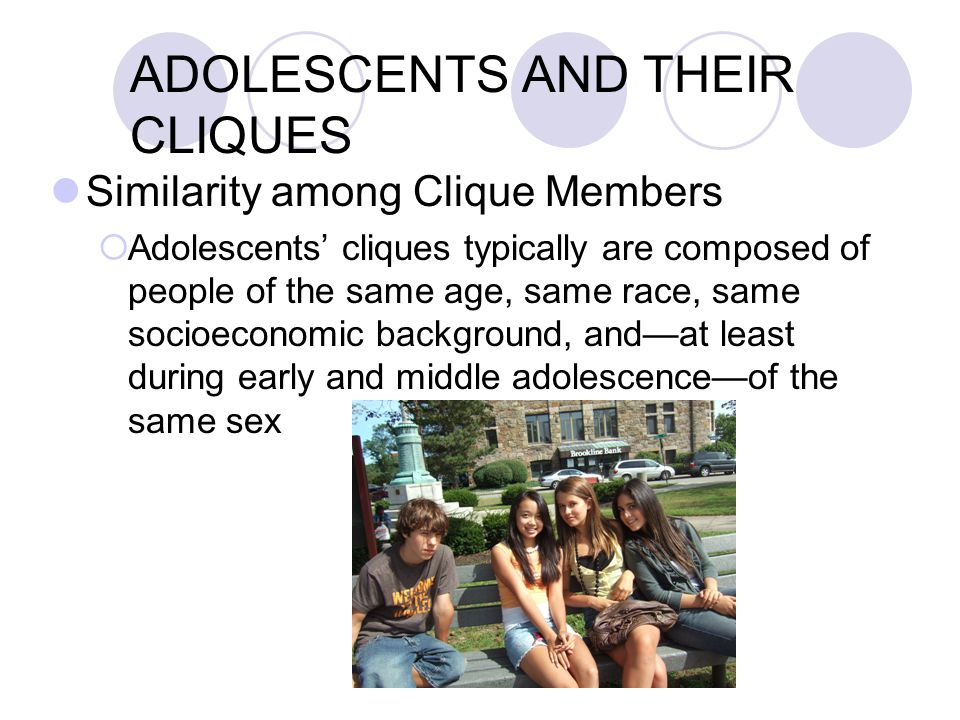 ADOLESCENTS AND THEIR CROWDS Crowds as Reference Groups  Crowds contribute to the definition of norms and standards for such things as clothing, leisure, and tastes in music