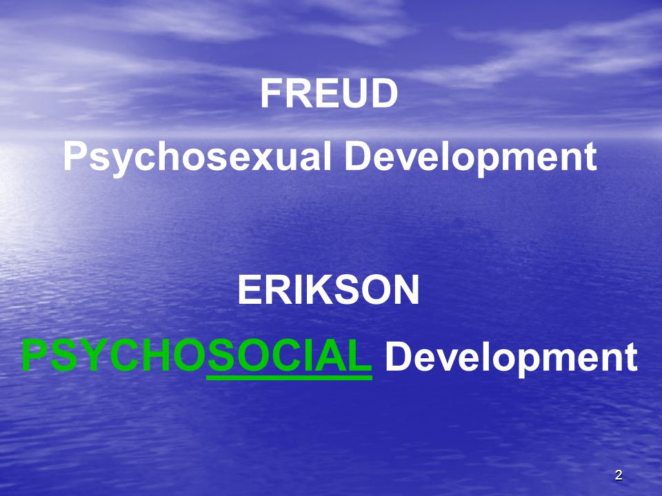 3 EPIGENETIC PRINCIPLE There Is A Natural, Predetermined Order To Development.