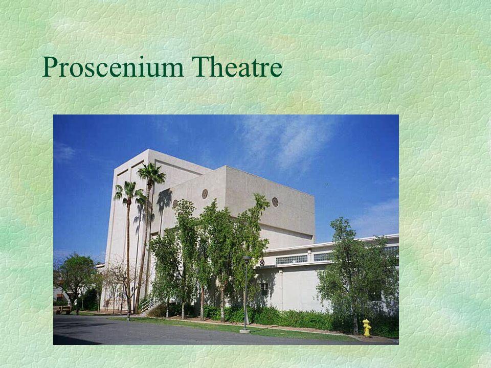 Proscenium Theatre