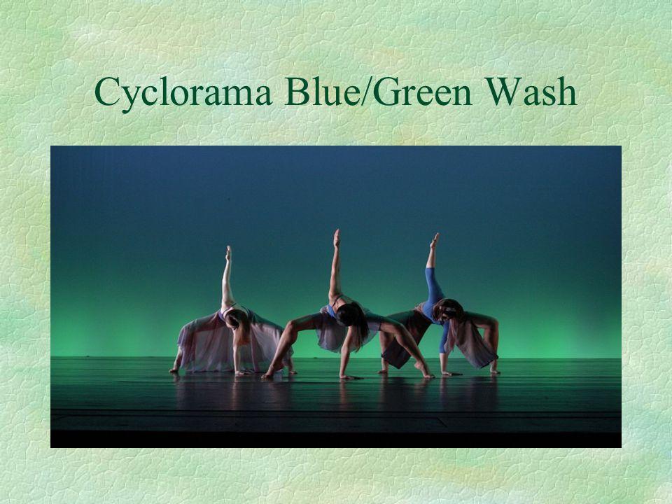 Cyclorama Blue/Green Wash