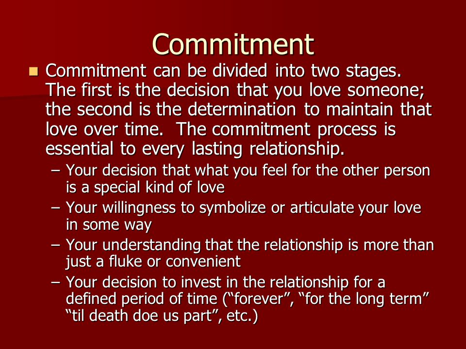 Eight Types of Love 1.Non Love-No intimacy, no passion, no commitment 1.