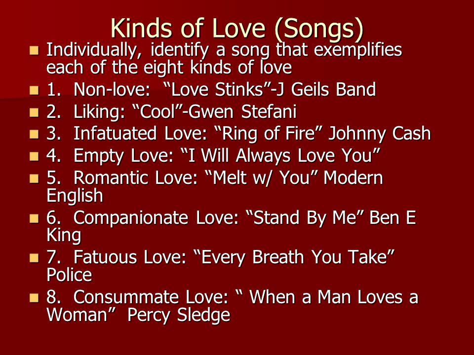 Non-Love Songs I Will Survive I Will Survive Before He Cheats Before He Cheats Tainted Love Tainted Love