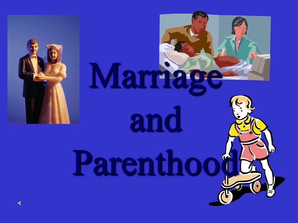 I.Preparing for marriage - Intimacy plays a vital role in a marriage relationship.
