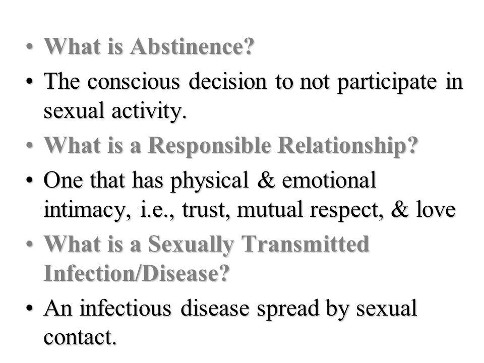 What is Sexual Intimacy?What is Sexual Intimacy.