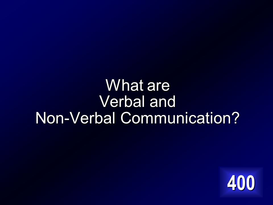 The Two most basic forms of communication Answer…