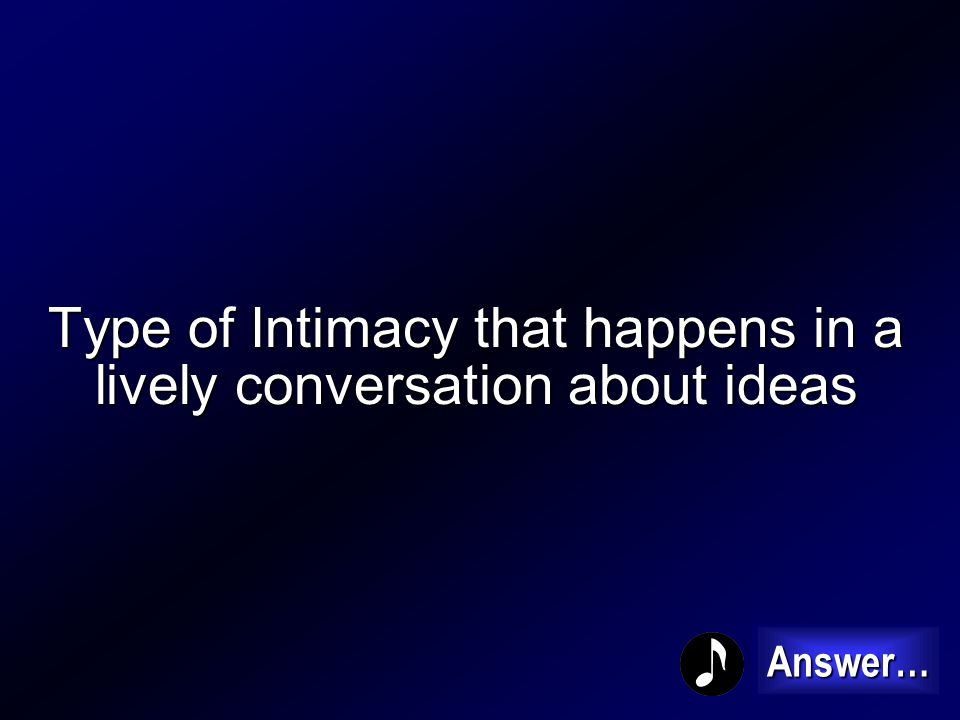 What is Crisis Intimacy 200