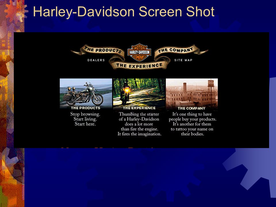 Harley-Davidson Screen Shot