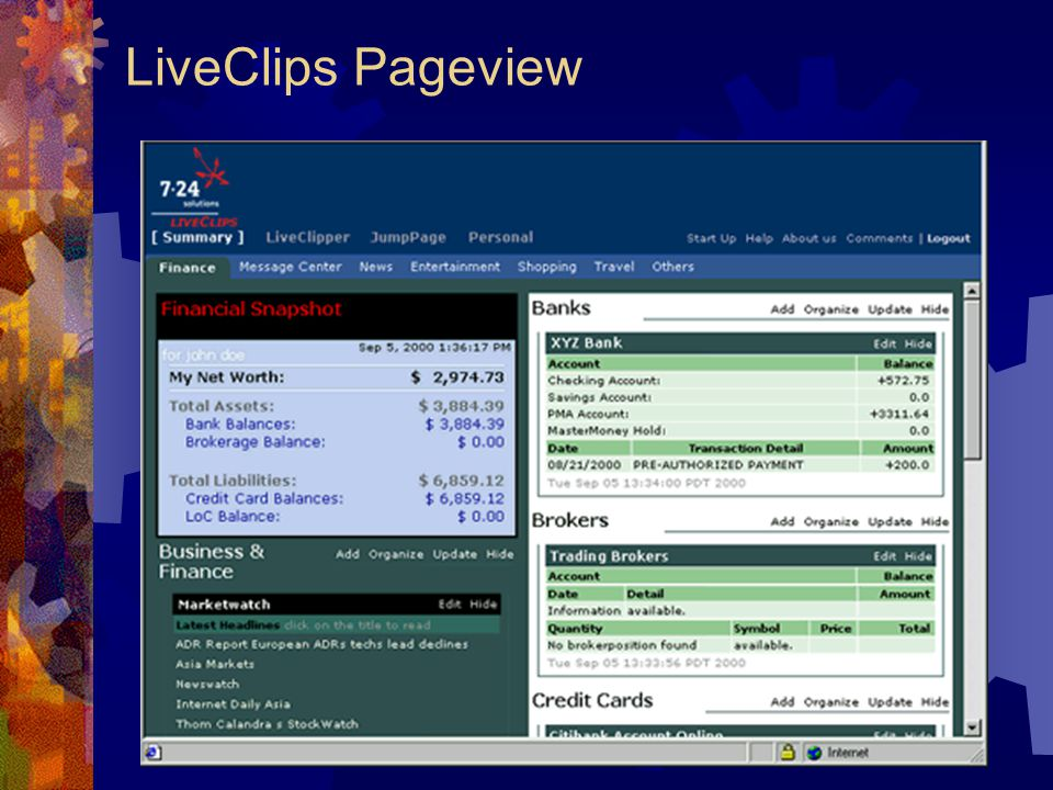 LiveClips Pageview