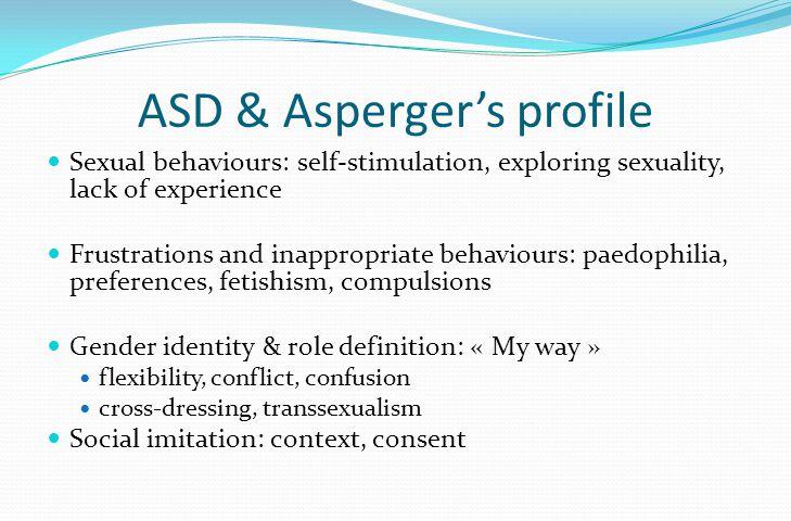 ASD & Asperger's profile Interpretation of emotions: black & white.