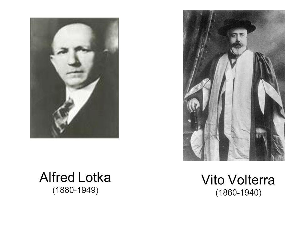 Vito Volterra (1860-1940) Alfred Lotka (1880-1949)