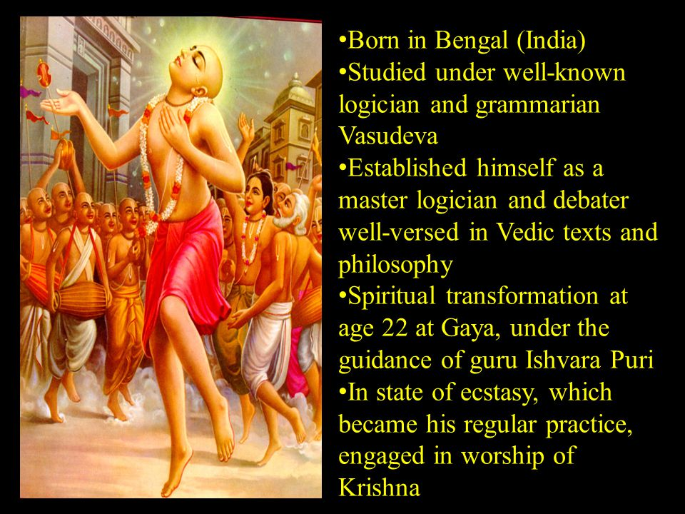 Born in Bengal (India) Studied under well-known logician and grammarian Vasudeva Established himself as a master logician and debater well-versed in V