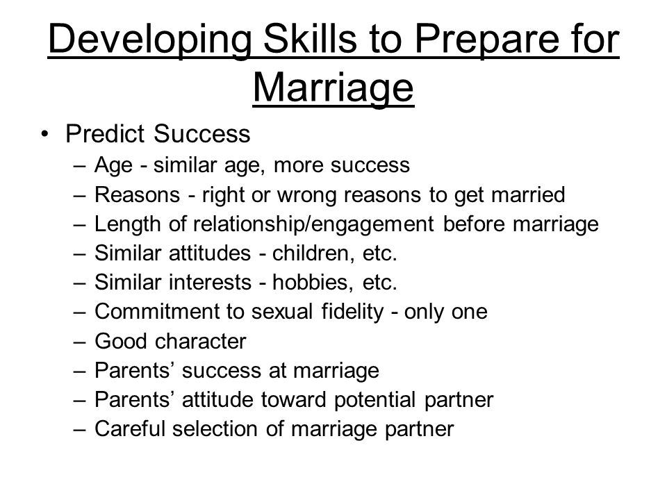 The Marriage Commitment Marriage partners must be committed to actions that honor their wedding vows.