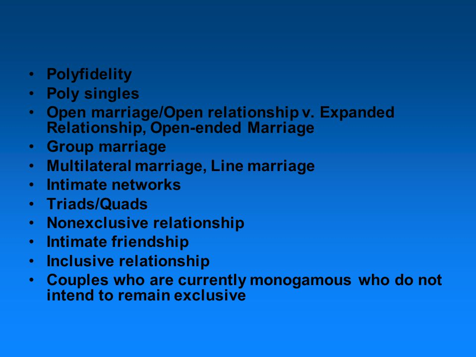 Polyamory: The Skill Sets The same skill sets necessary for traditional relationships are necessary for Polyamory.
