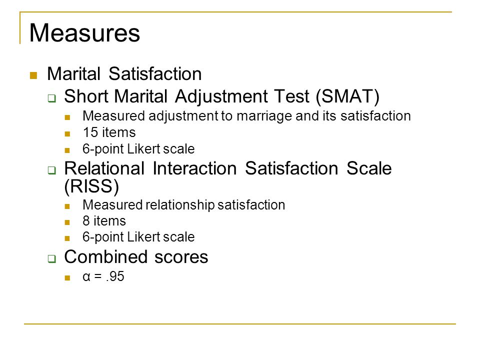 Measures Religious Devotion  Religious Behaviors Scale (RBS) Measured levels of devotion by evaluating their actions in regard to their religion 10 items 6-point Likert scale  Religion and Me Survey (RAMS) Measured religious devotion by measuring how often an individual actively applied religion to their personal life 25 items 6-point Likert scale  Combined scores α =.88