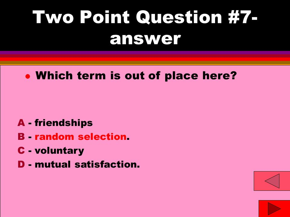 Two Point Question #8 l Ramon states he finds it difficult to trust his partners; is uncomfortable in intimate relationships; and doubts he will ever find true love.