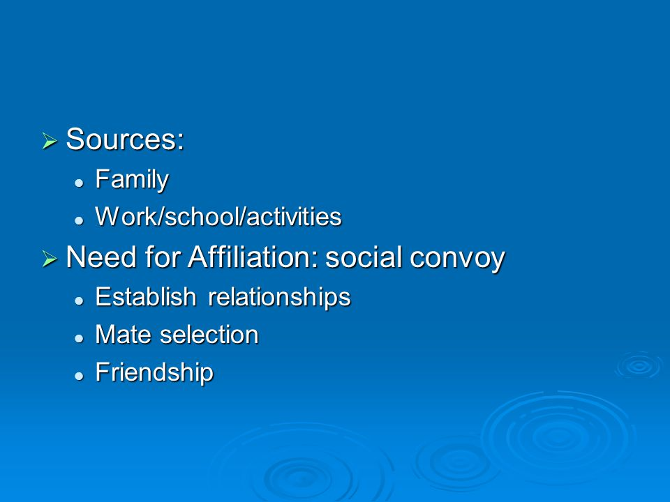 Long-Standing Friendships  Correlate with feelings of well-being, self- esteem  May account for choices in late adulthood: maintain established contacts friends, religious affiliations, social/ethnic clubs friends, religious affiliations, social/ethnic clubs