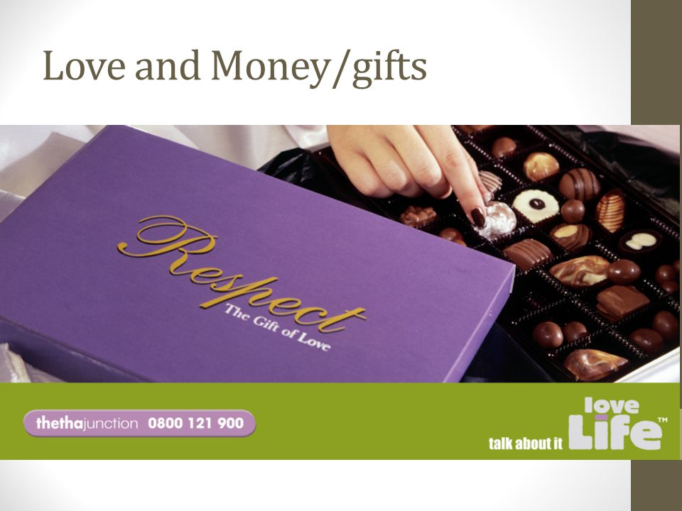 Love and Money/gifts