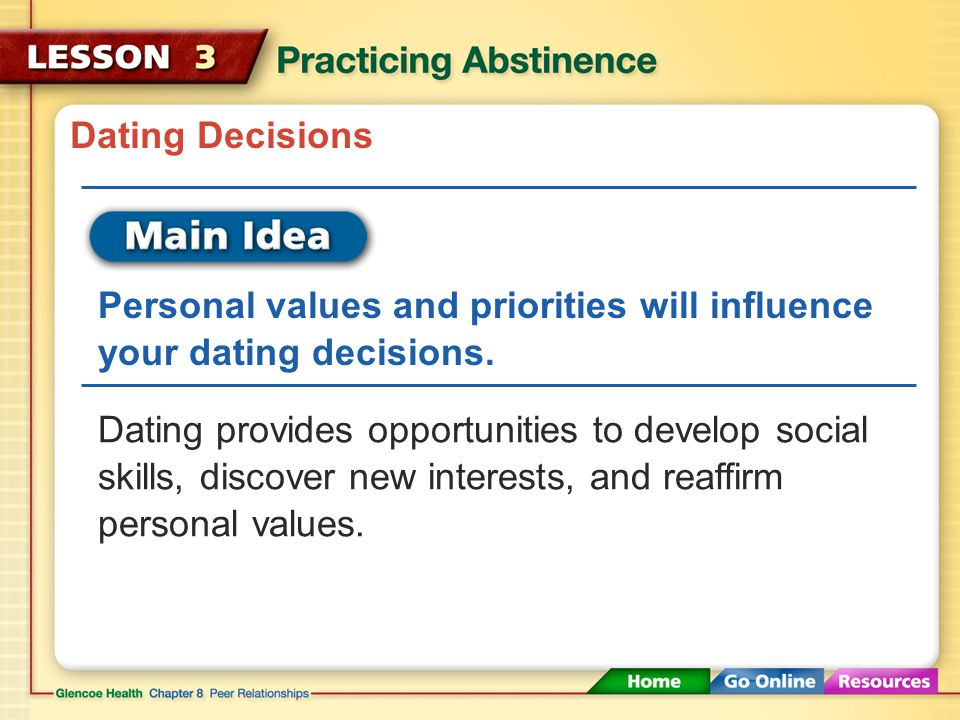 priorities intimacy infatuation self-control sexually transmitted diseases (STDs)