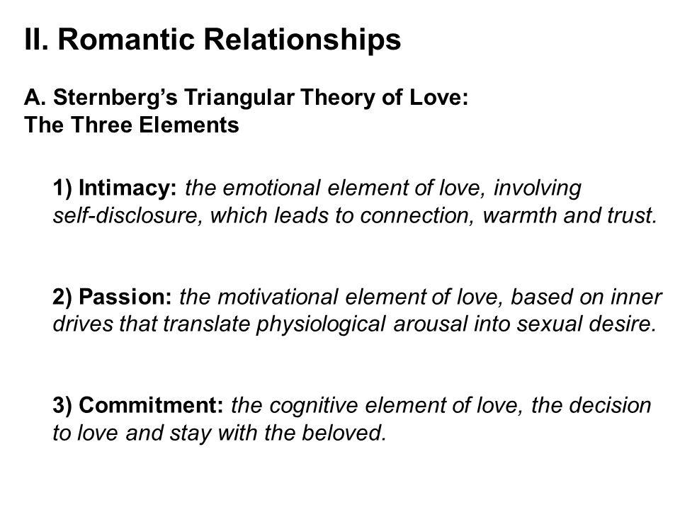 II. Romantic Relationships A.