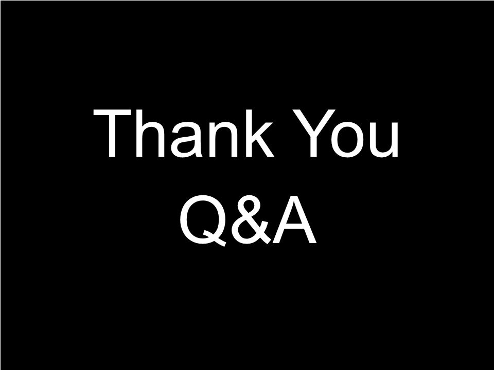 Q&A Thank You