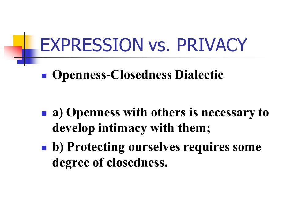 EXPRESSION vs.