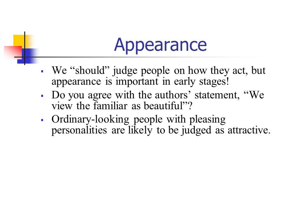 Attractiveness rating High………medium………low