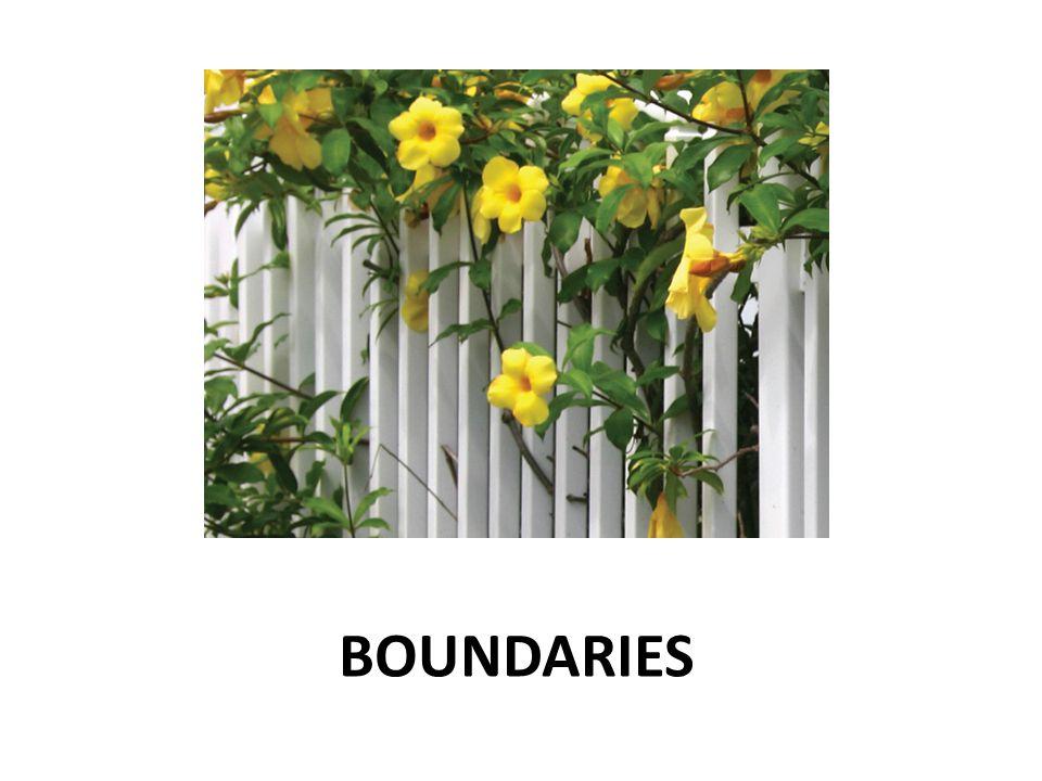A Good Relationship has Good Boundaries