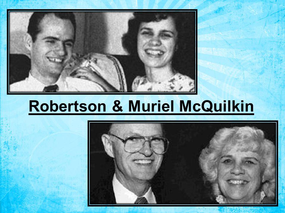 Robertson & Muriel McQuilkin