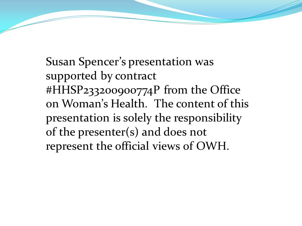 Susan B.Spencer, LCSW Consultant Susan B. Spencer, Inc.