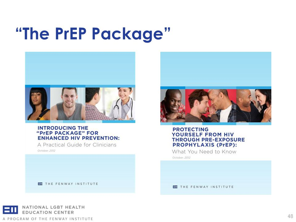 The PrEP Package 48
