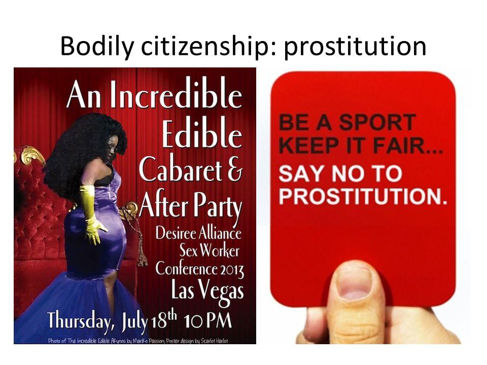 Bodily citizenship: prostitution