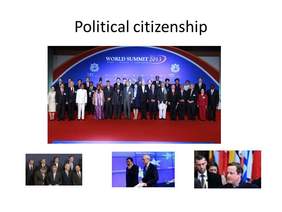 Political citizenship