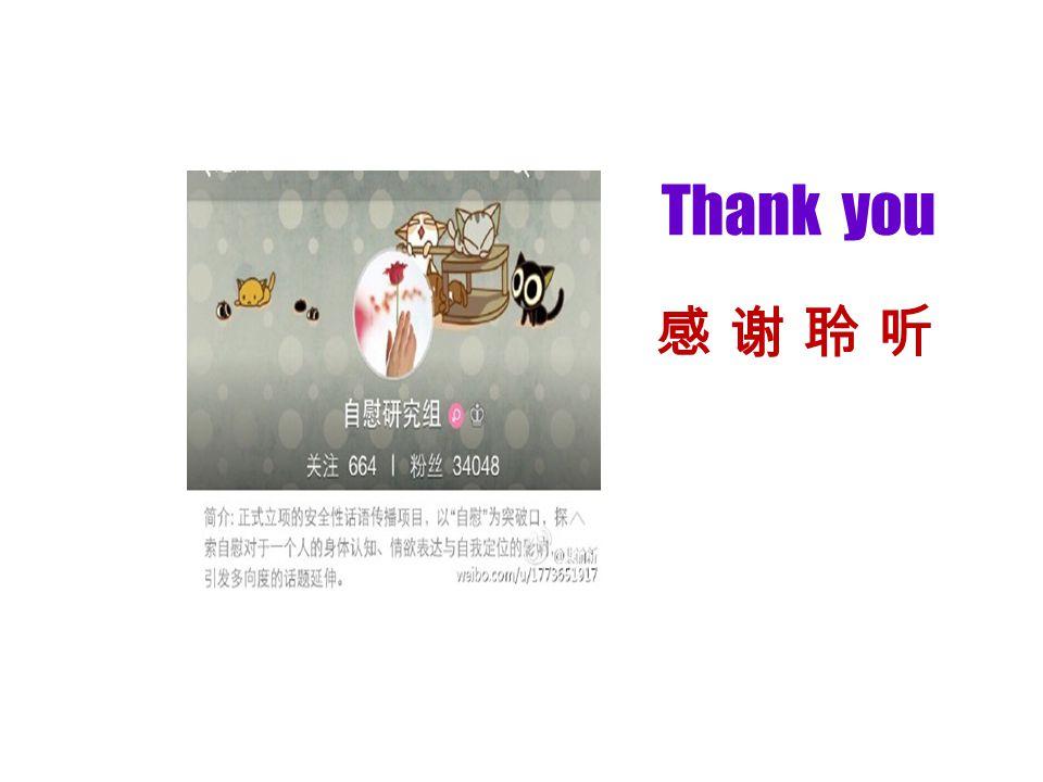 Thank you 感 谢 聆 听感 谢 聆 听