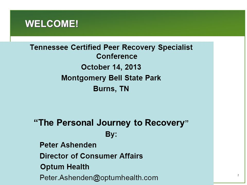 2 THIS PRESENTATION  Discuss recovery perspectives and my personal recovery story  The skills I have acquired while in recovery  Surveys and Information that is helpful in demonstrating that peer support is powerful  Things you can do to help you and your community
