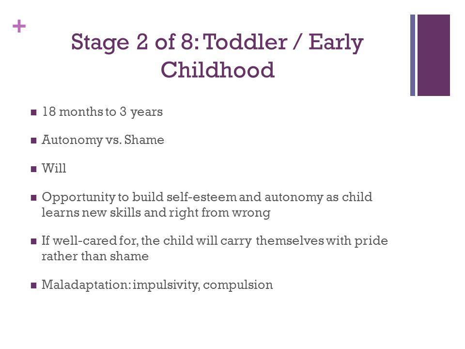 + Stage 3 of 8: Preschooler 3 to 5 years Initiative vs.