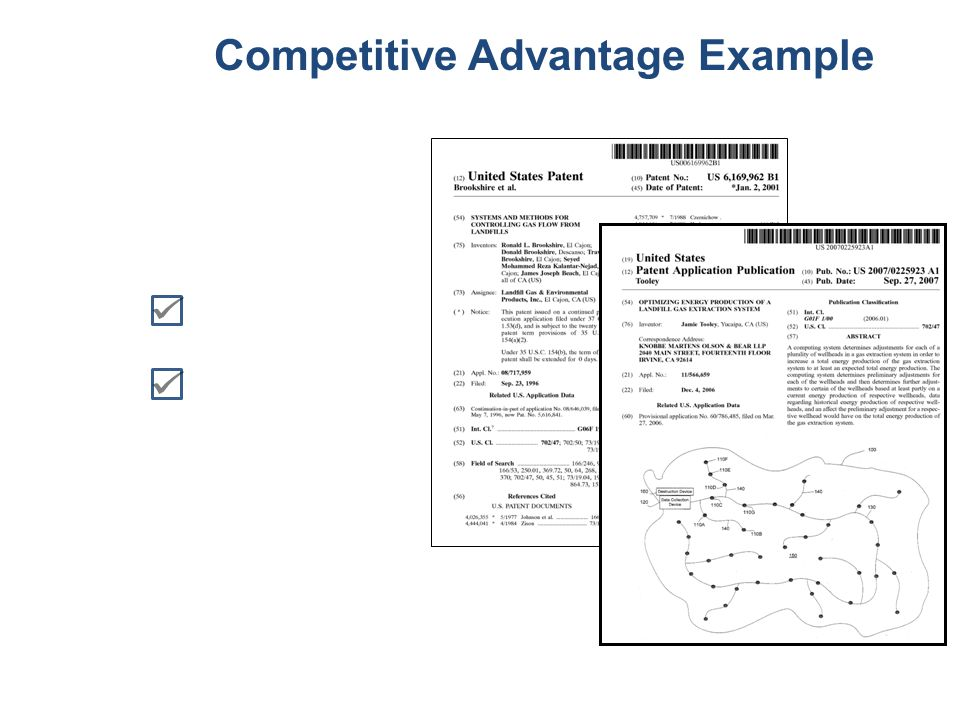 Competitive Advantage Example