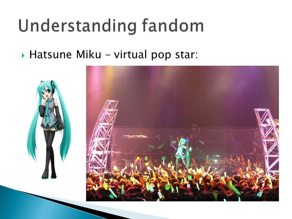  Hatsune Miku – virtual pop star: