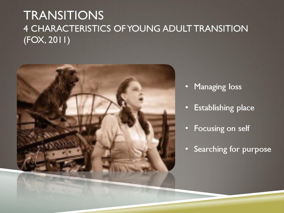 JOHN FISCHER'S TRANSITION CURVE HO: Transition Curve