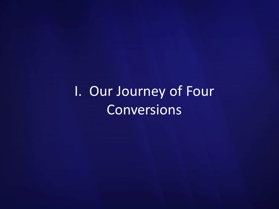 D. Slowing Down to Lead with Integrity: Conversion Four