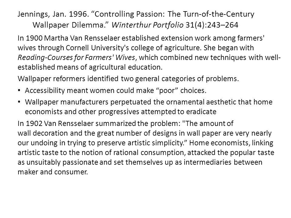 Jennings, Jan. 1996.