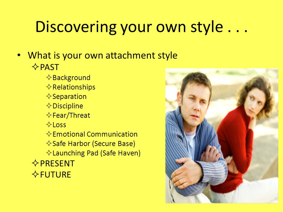 Discovering your own style...