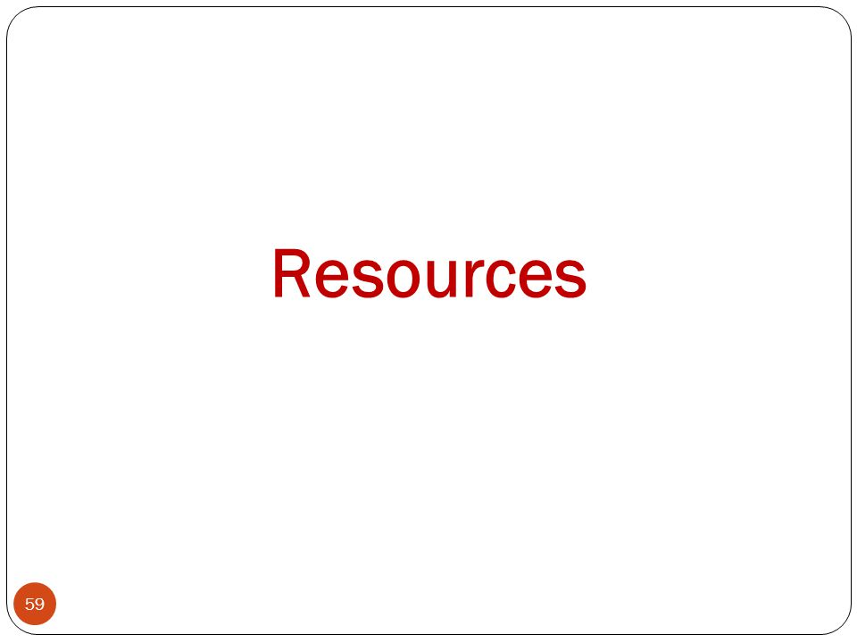59 Resources