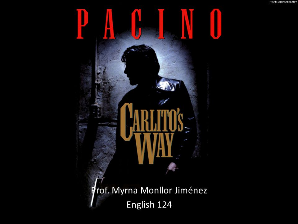 Carlito's Voice Over Recorded to provide a sensation of intimacy Voice overs are usually by a voice in the future reminiscing about the past.