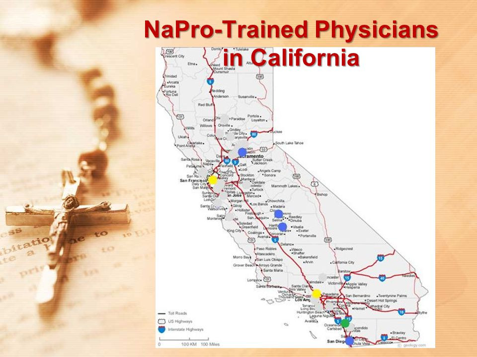 NaPro-Trained Physicians in California