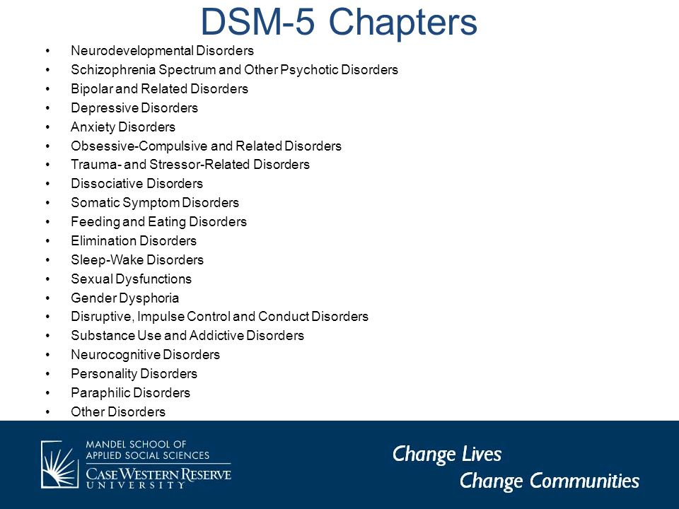 DSM-5 Alternative Model of Personality Disorders Personality Disorder Types -Borderline Personality Disorder -Obsessive-Compulsive Personality Disorder -Avoidant Personality Disorder -Schizotypal Personality Disorder -Antisocial Personality Disorder -Narcissistic Personality Disorder Core Functional Impairments SelfInterpersonal IdentityEmpathy Self-DirectionIntimacy Personality Disorder Trait Domains (Polar Opposites) & Facets Negative Affectivity (vs.