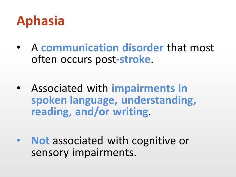 Relationship changes Person with aphasia Family members Friends Person with aphasia Family members Friends