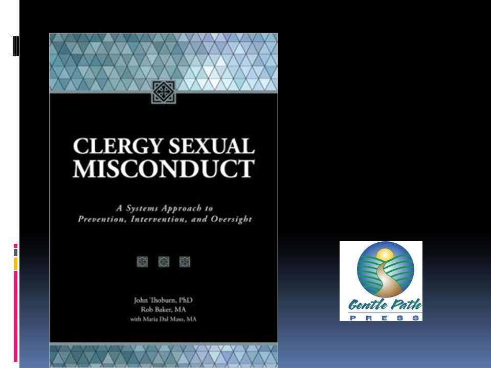 Clergy Sexual Misconduct  First survey was in 1991.