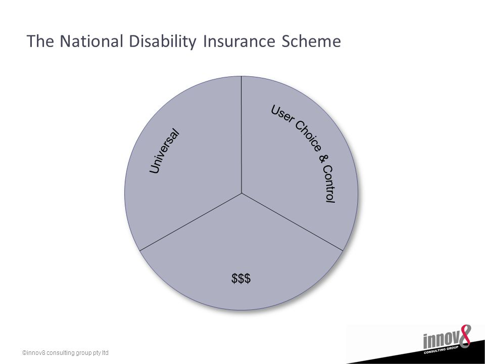 ©innov8 consulting group pty ltd The National Disability Insurance Scheme
